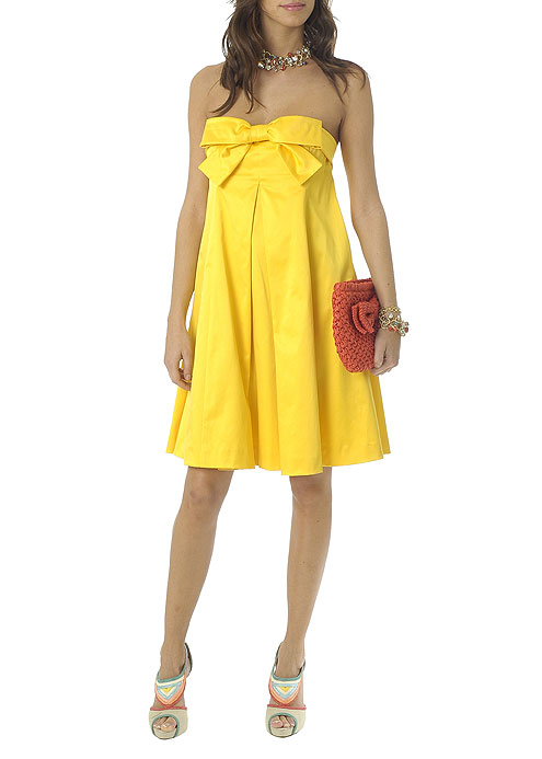 mangoyellowsummerydress