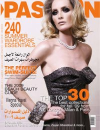 Pashion Magazine Cover
