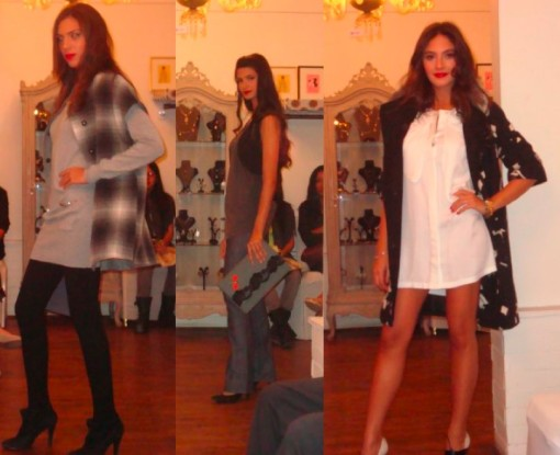Fashion Show Spread - Black & Greys